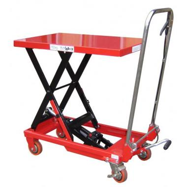 Single Manual Scissor Lift Table_1