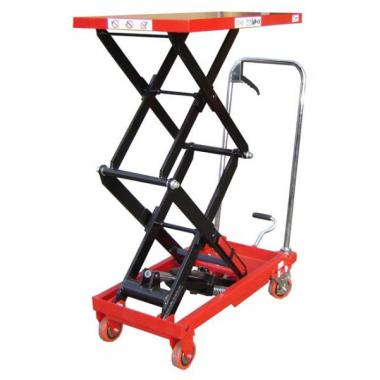 Double Manual Scissor Lift Tables_1
